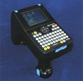 Handheld Mobile Computer with RFID and Barcode scanners