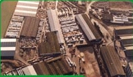Howarth Timber Yard – aerial view