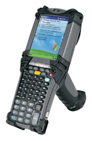 Hand-held computer and bar-code scanner
